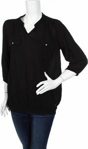 Czarna bluzka M.a.p.p. z długim rękawem w stylu casual