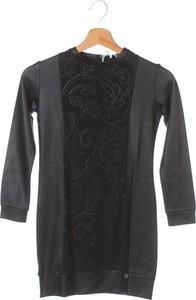 Czarna sukienka dziewczęca Bikkembergs