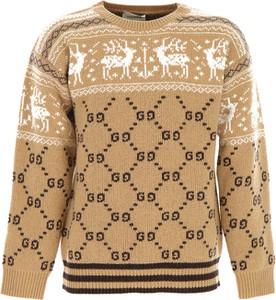 Sweter Gucci z bawełny