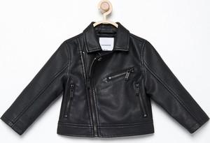Czarna kurtka dziecięca Reserved dla dziewczynek