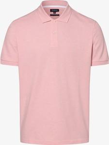 Różowa koszulka polo Mc Earl z bawełny