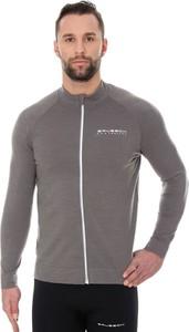Bluza Brubeck w sportowym stylu z wełny