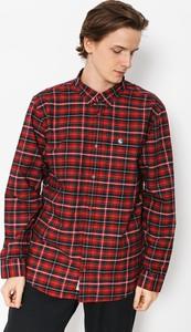 Czerwona koszula Carhartt WIP z bawełny