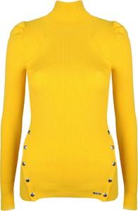 "Sweter Guess Sweter ""vera"" w stylu casual z tkaniny"