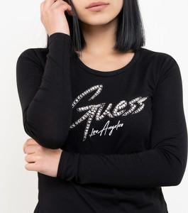 Czarna bluzka Guess