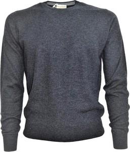 Sweter Cashmere Company w stylu casual z dżerseju z okrągłym dekoltem