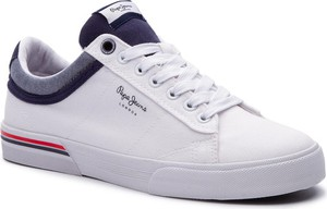 Pepe Jeans Sneakersy North Court PMS30530 Biały