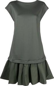 Sukienka Emporio Armani mini z okrągłym dekoltem