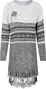 Sweter Liu-Jo z wełny w stylu casual