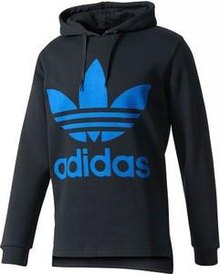 Czarna bluza Adidas Originals w młodzieżowym stylu