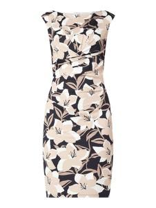 Sukienka Montego z okrągłym dekoltem prosta mini