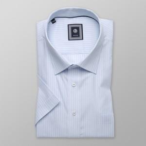 Niebieska koszula Willsoor z bawełny z długim rękawem