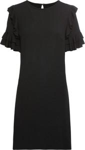 Sukienka bonprix BODYFLIRT z dżerseju z krótkim rękawem