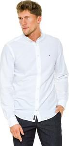 Koszula Tommy Hilfiger z kołnierzykiem button down z długim rękawem z bawełny