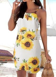 Sukienka Sandbella w stylu boho mini
