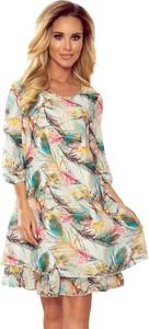 Sukienka Moda Dla Ciebie mini z długim rękawem