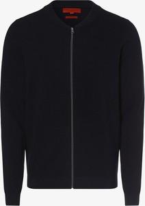 Granatowy sweter Finshley & Harding w stylu casual