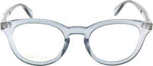 Niebieskie okulary damskie Gucci