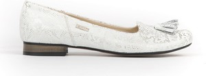Baleriny Zapato z zamszu