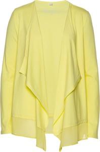 Żółty t-shirt bonprix bpc selection