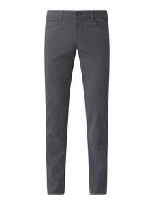 Spodnie Montego z bawełny w stylu casual