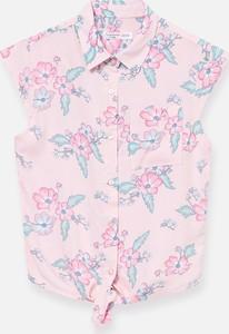 Różowa koszula dziecięca Sinsay