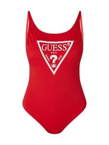 Czerwony strój kąpielowy Guess w stylu casual