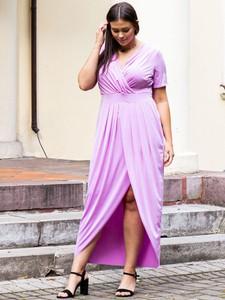 Sukienka KARKO maxi z tkaniny