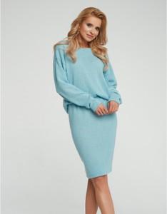 Niebieska spódnica Maare midi