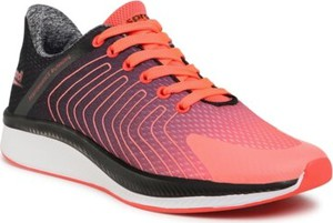 Różowe buty sportowe Sprandi sznurowane
