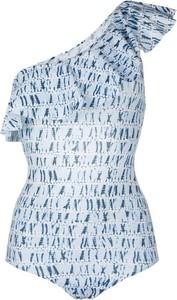Niebieski strój kąpielowy Isabel Marant z nadrukiem