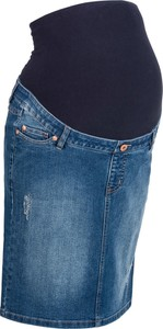 Niebieska spódnica bonprix bpc bonprix collection