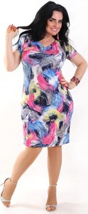 Sukienka Oscar Fashion midi w stylu casual