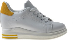 Buty sportowe producent niezdefiniowany ze skóry ekologicznej sznurowane