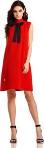 Czerwona sukienka Lemoniade trapezowa
