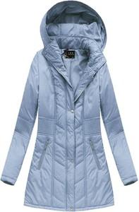 Niebieska kurtka libland w stylu casual
