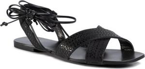 Czarne sandały Jenny Fairy