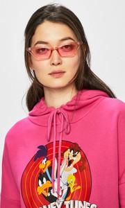 Różowa bluza Only z bawełny