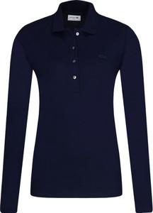 Bluzka Lacoste z długim rękawem