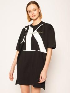 Sukienka Calvin Klein w stylu casual z długim rękawem