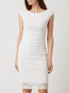 Sukienka Swing z krótkim rękawem z okrągłym dekoltem mini