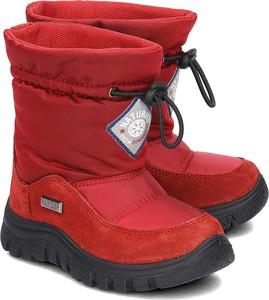 Buty dziecięce zimowe Naturino z zamszu