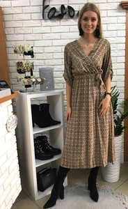 11ad27b3c32bd8 długa sukienka w paski - stylowo i modnie z Allani