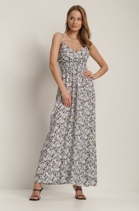 Fioletowa sukienka Renee maxi