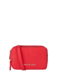 Czerwona torebka Valentino by Mario Valentino na ramię ze skóry ekologicznej mała