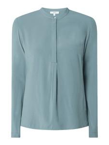 Zielona bluzka Jake*s Casual z długim rękawem