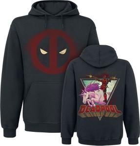 Czarna bluza Deadpool z bawełny