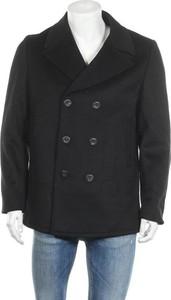 Czarny płaszcz męski Guess w stylu casual