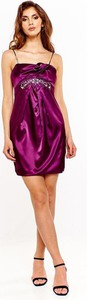 Sukienka Fokus z satyny