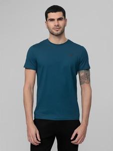 Niebieski t-shirt 4fsklep.pl